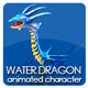Toon Water Dragon
