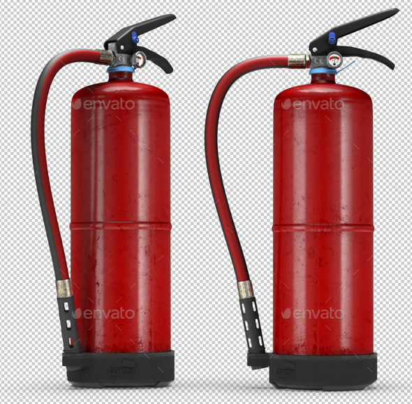 Fire Extinguisher  - 3D Backgrounds