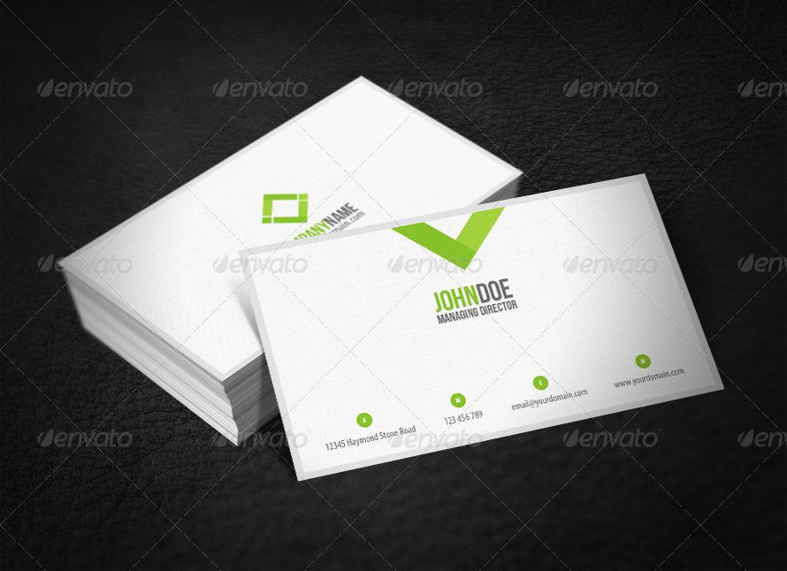 Original business card by glenngoh graphicriver original business card corporate business cards 01originalgreen1g colourmoves