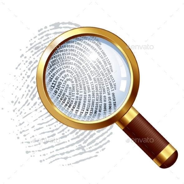 Thumbprint Examination - Technology Conceptual