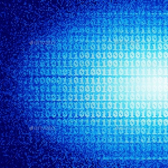 Binary Code - Technology Conceptual