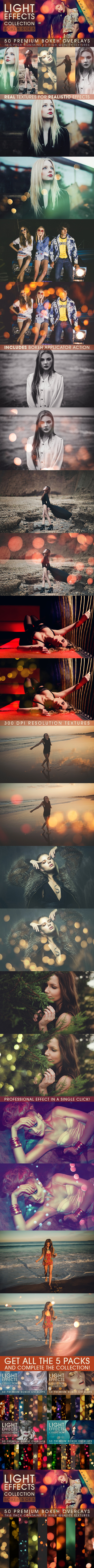 Bokeh Overlays Vol.5 - Photo Effects Actions