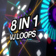 EDM Music Visuals VJ Pack - VideoHive Item for Sale