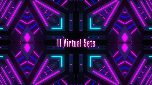 virtual stage light scenes by cgstocker videohive