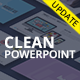 Clean Powerpoint Presentation Template - GraphicRiver Item for Sale