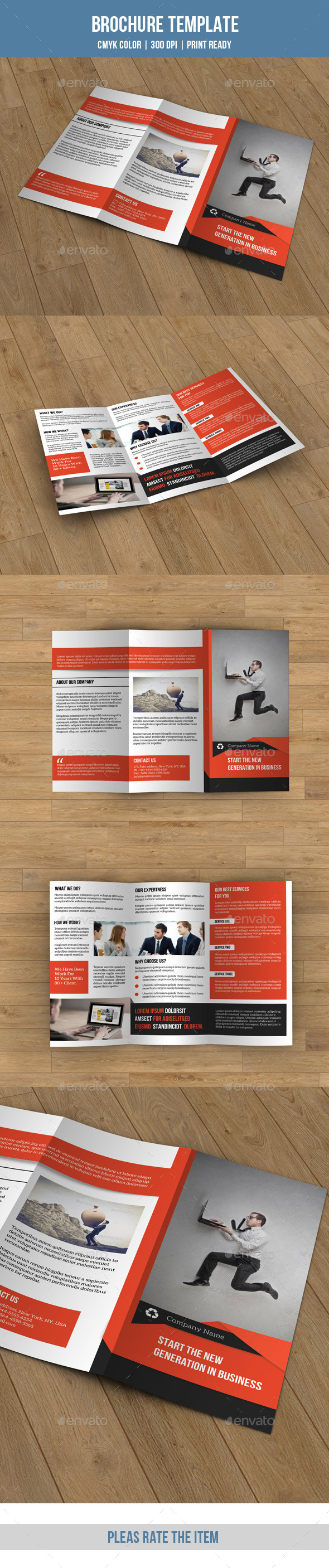 Creative Trifold Brochure-V177 - Corporate Brochures