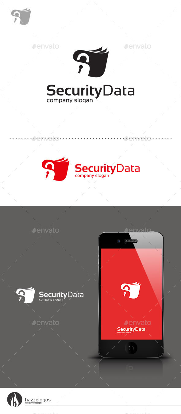 Security Data Logo - Symbols Logo Templates