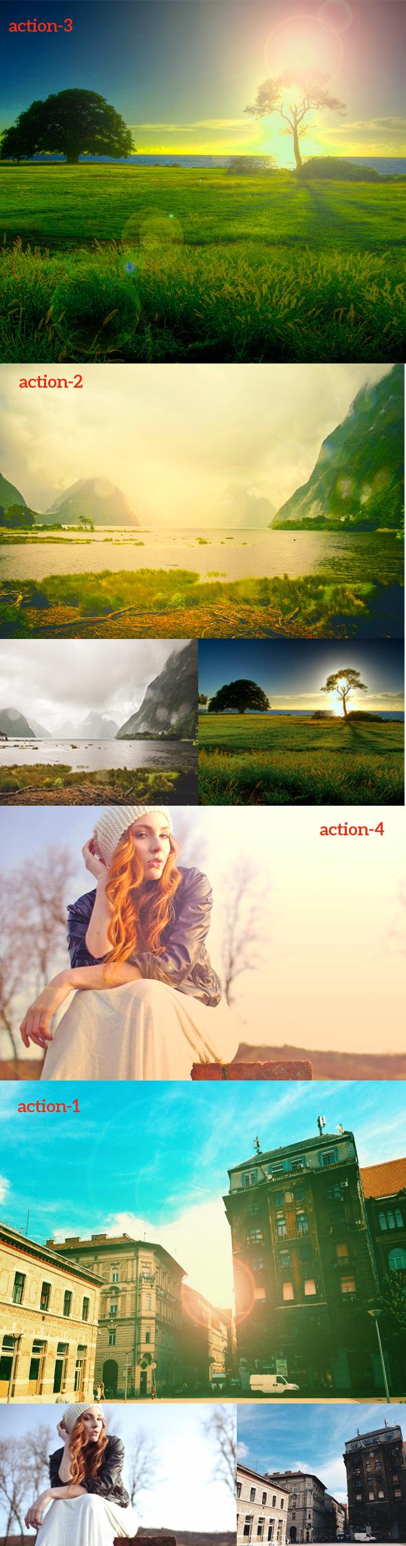 Photos Colou Action - Actions Photoshop