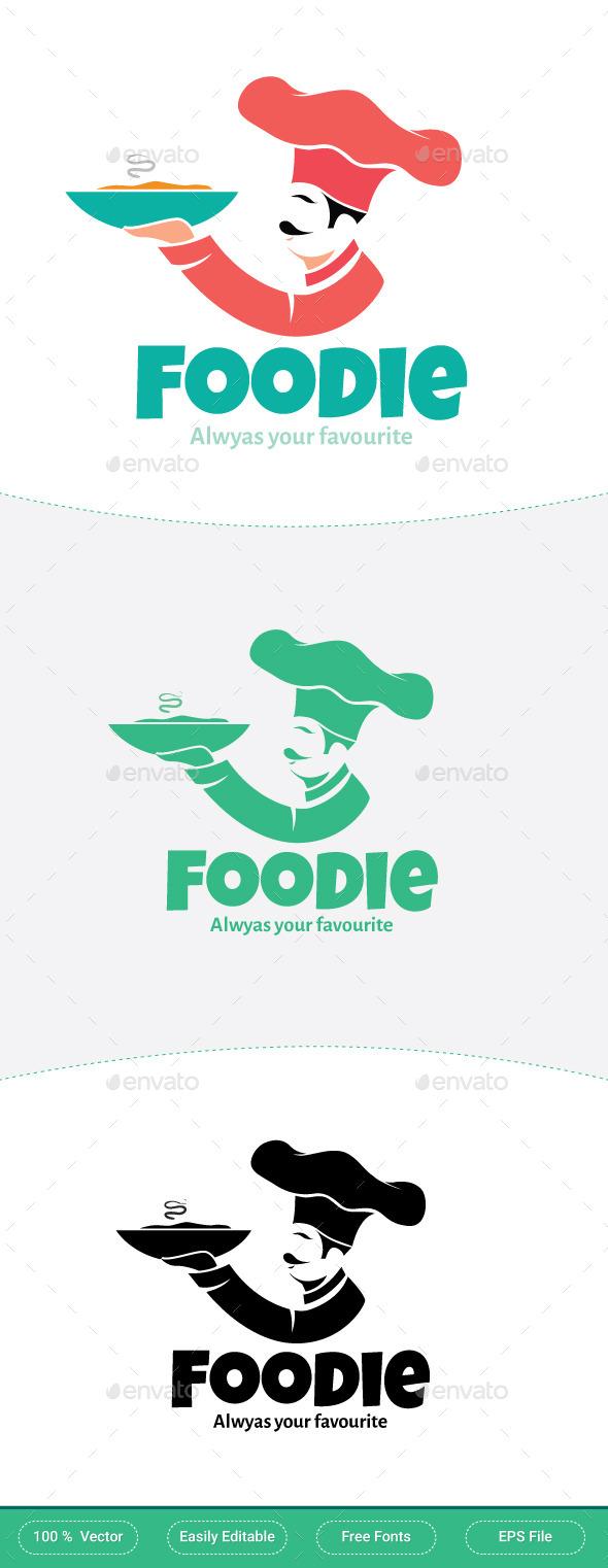 Foodie Restaurant Logo - Restaurant Logo Templates