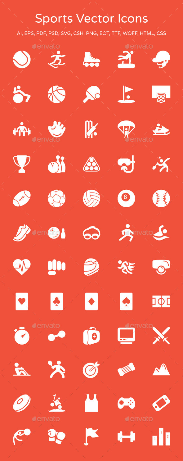 Sports Vector Icons - Icons