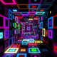 Neon Squares - VideoHive Item for Sale