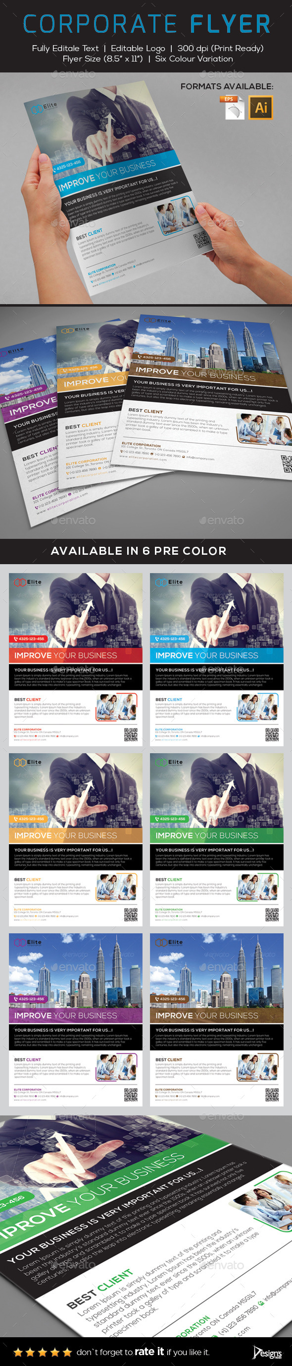 Flyer - Multipurpose Business Flyer 2 - Flyers Print Templates