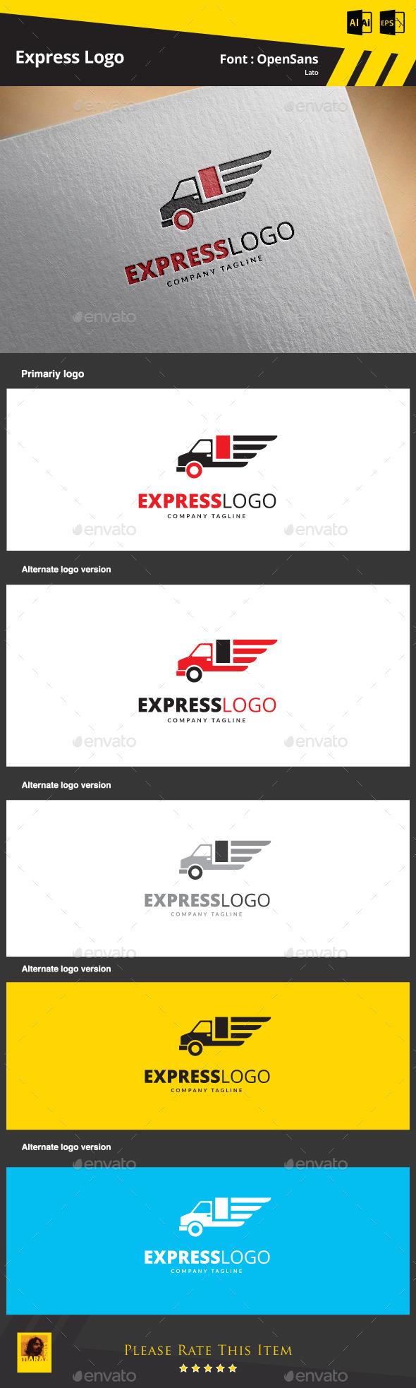 Express Logo - Objects Logo Templates