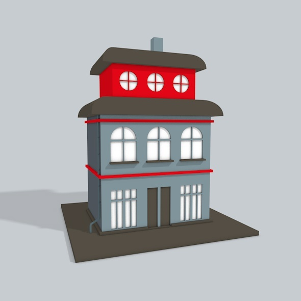 3D Building - 3DOcean Item for Sale
