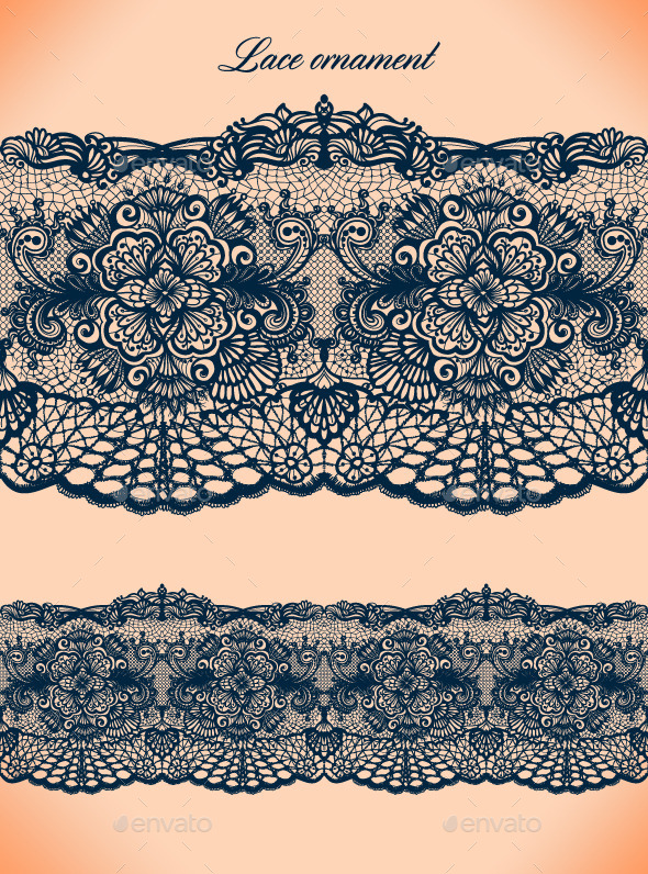 Lace Ornament - Backgrounds Decorative