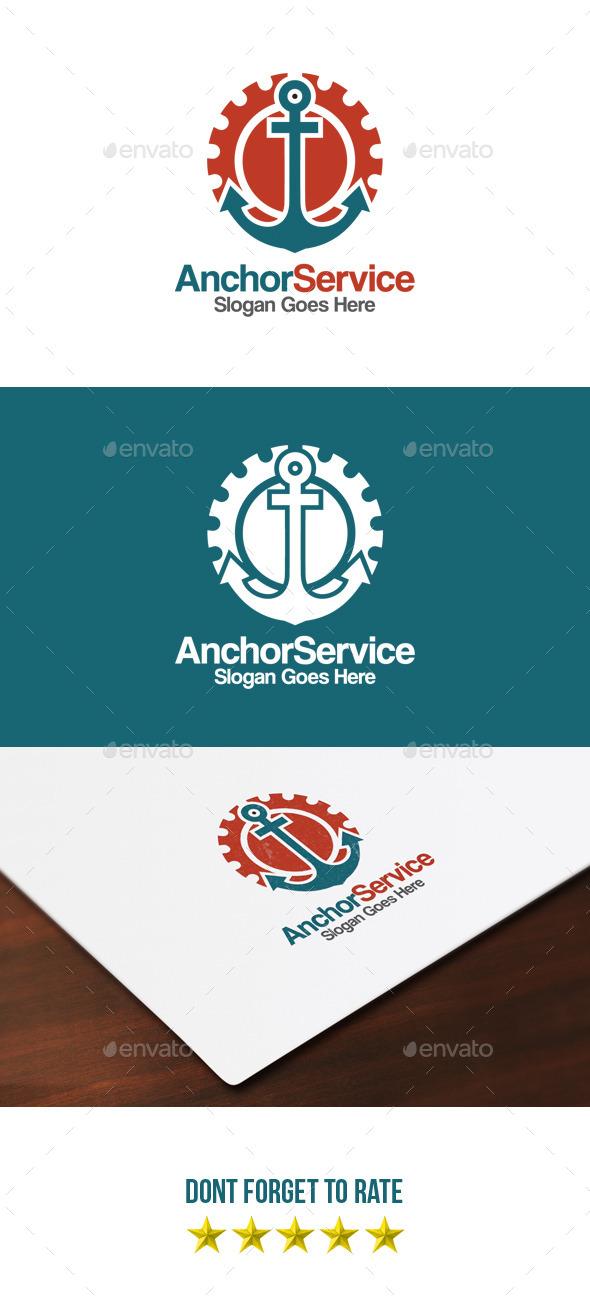 Anchor Service Logo - Objects Logo Templates