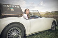 A journey in a vintage car - PhotoDune Item for Sale