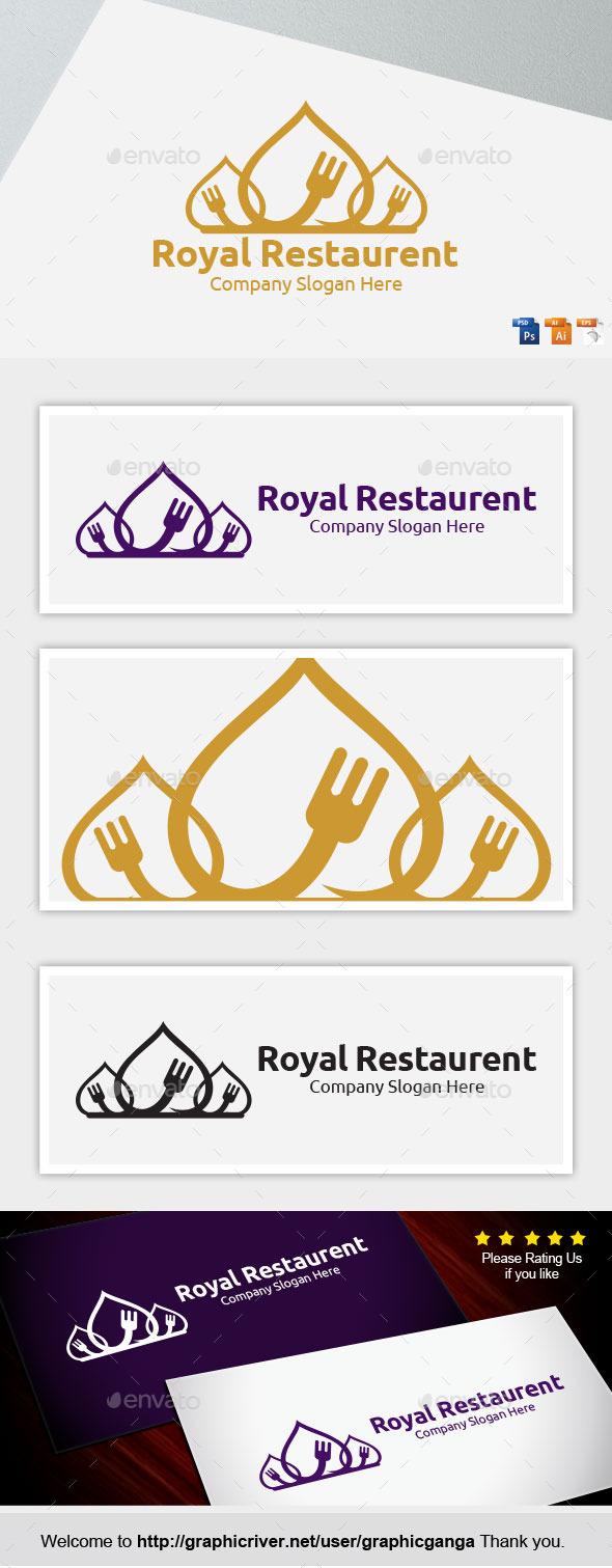 Royal-Restaurent - Restaurant Logo Templates