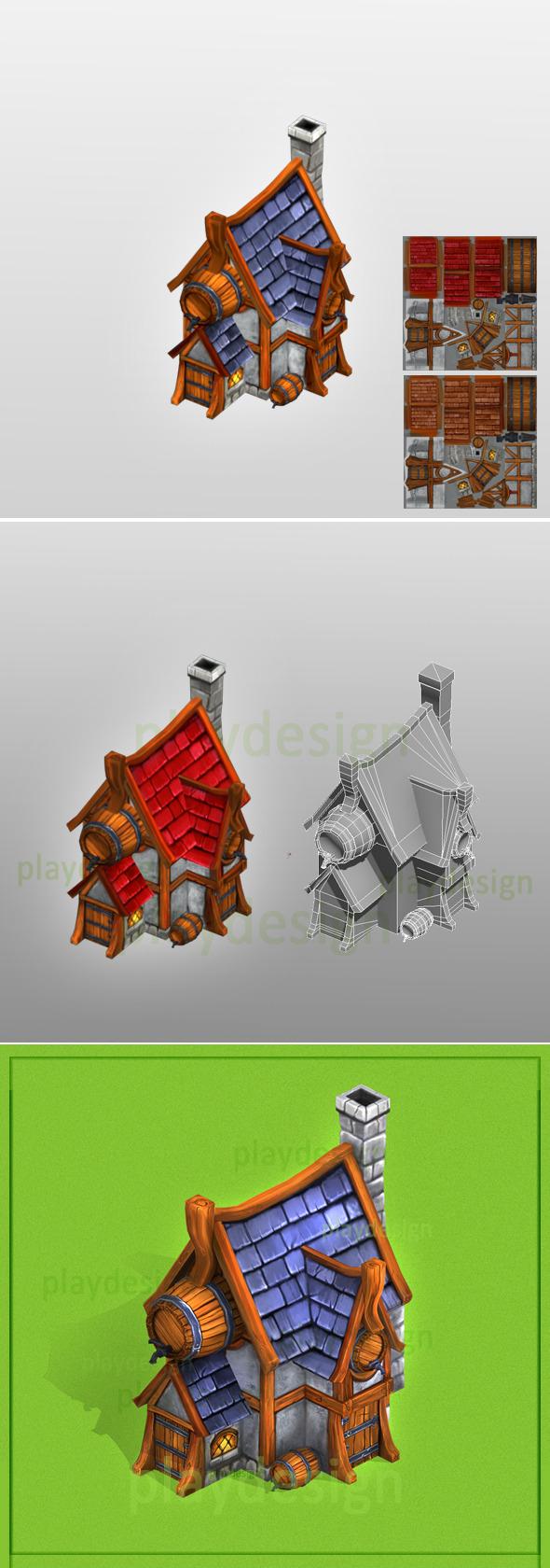 Tavern - 3DOcean Item for Sale