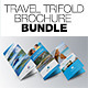 Travel Trifold Brochure Bundle - GraphicRiver Item for Sale