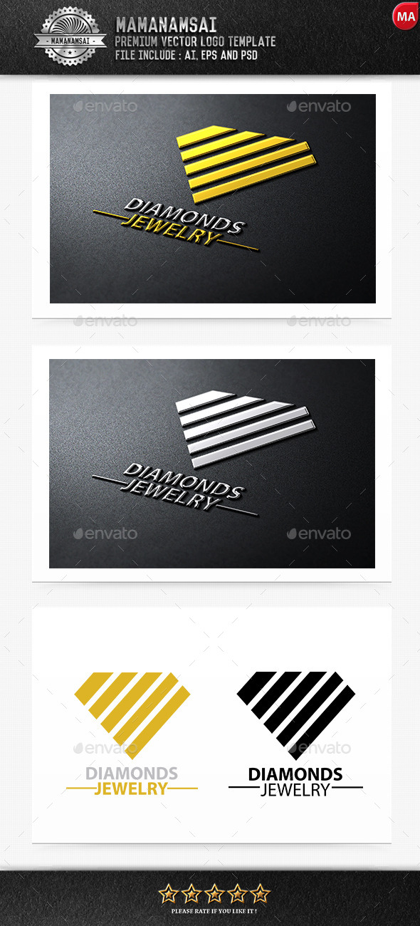 Diamonds Jewelry Logo - Logo Templates