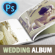 Wedding Photo Album Horizontal Brochure Template - GraphicRiver Item for Sale