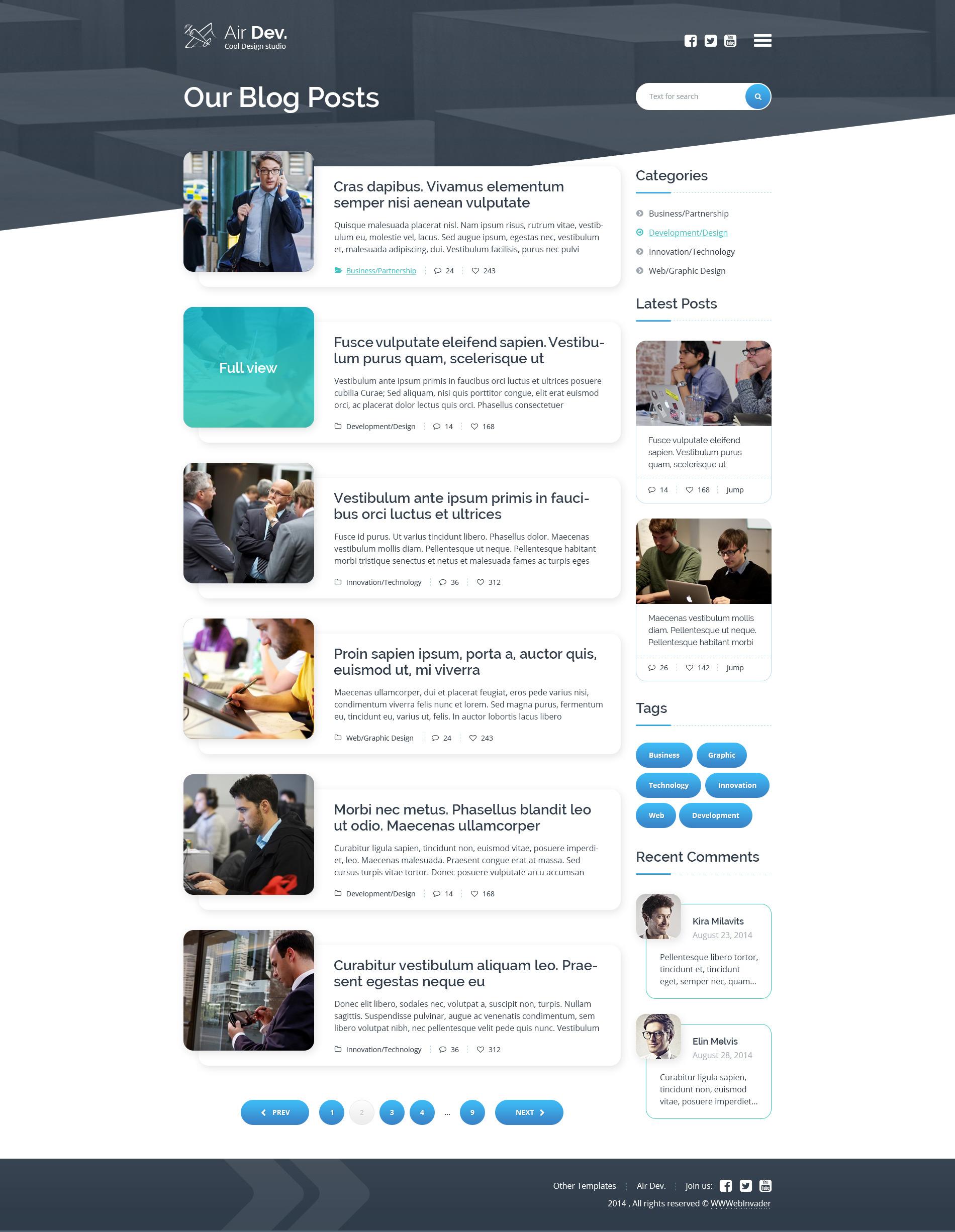 Amazing Blog Page Template - olisticdayitalia.tk