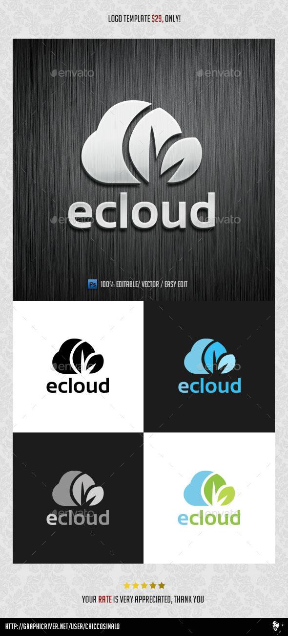 eCloud Logo Template - Abstract Logo Templates