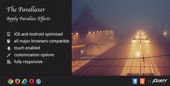 Parallaxer - Parallax Effects on Content - CodeCanyon Item for Sale