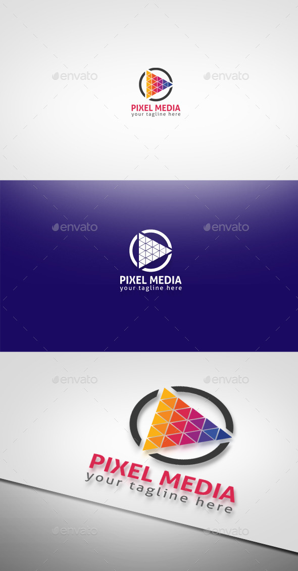 Pixel Media - Symbols Logo Templates