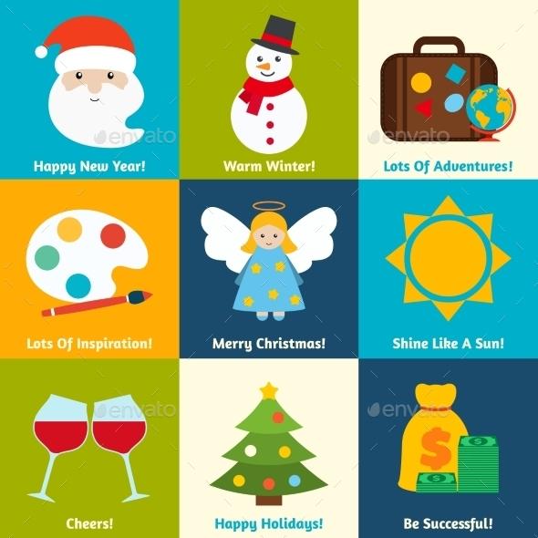 Christmas Wishes Set - Christmas Seasons/Holidays