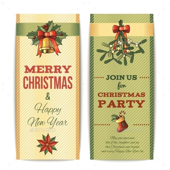 Christmas Vertical Banners - Christmas Seasons/Holidays