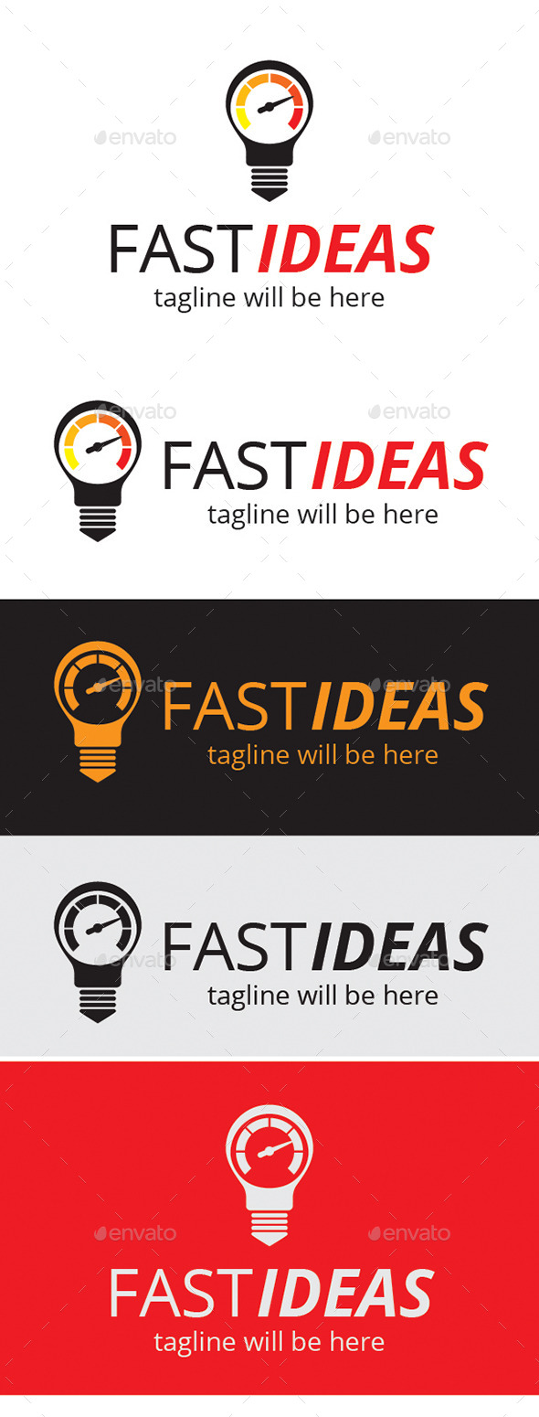 Fast Ideas Logo - Logo Templates