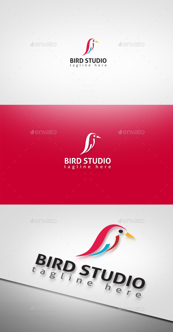 Bird Studio - Animals Logo Templates