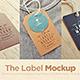 Tags / Labels Logo Mock-up - GraphicRiver Item for Sale