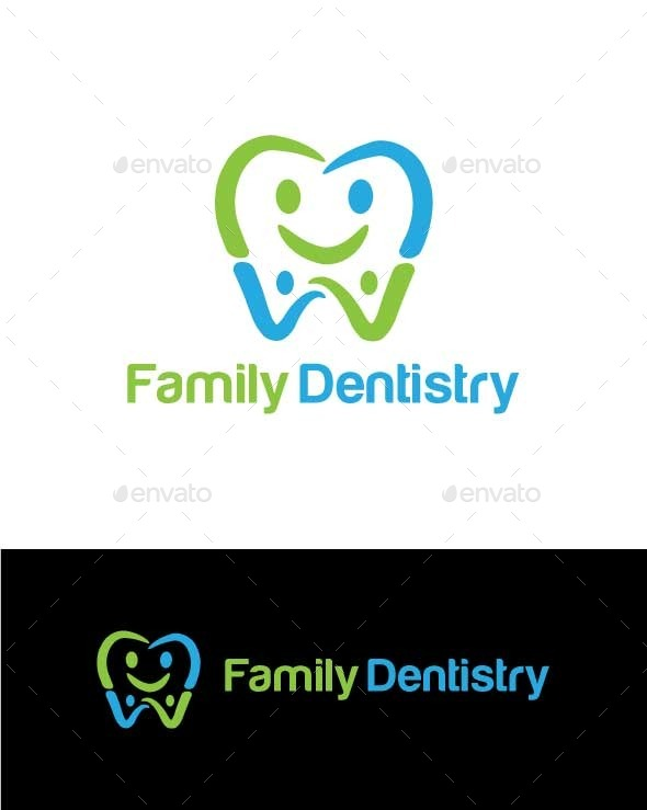 Family Dentistry - Abstract Logo Templates