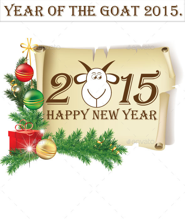 Year of The Goat 2015 - New Year Seasons/Holidays