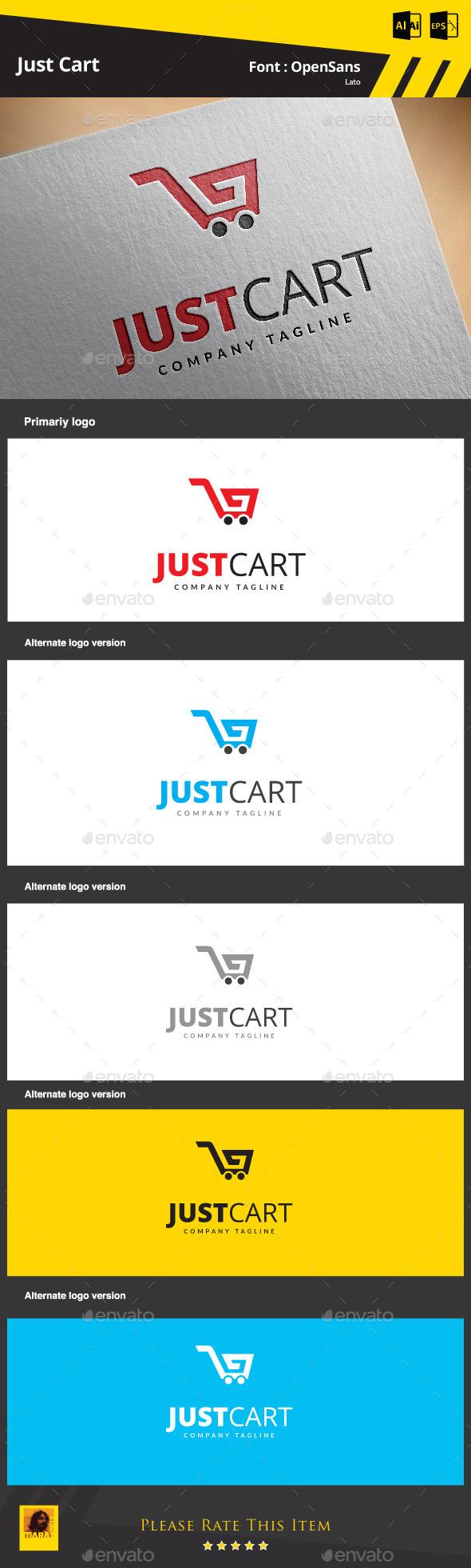Just Cart - Symbols Logo Templates