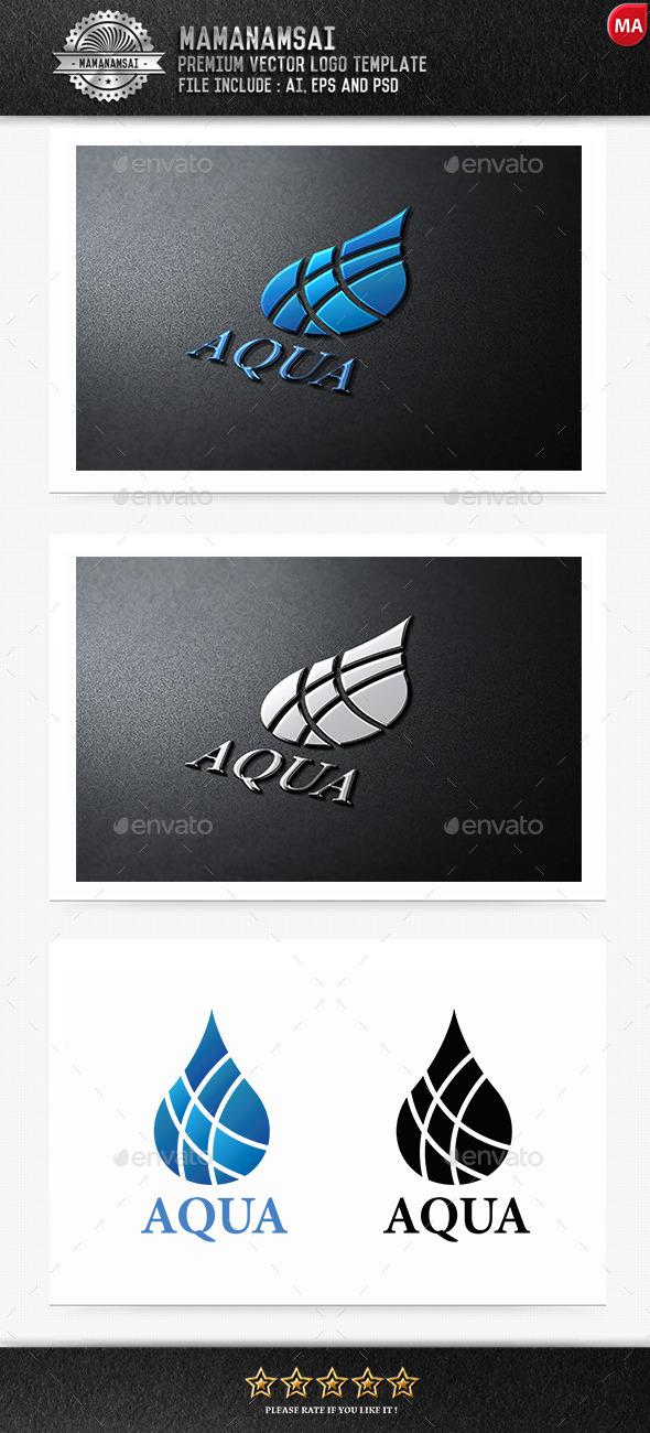 Aqua Logo - Nature Logo Templates
