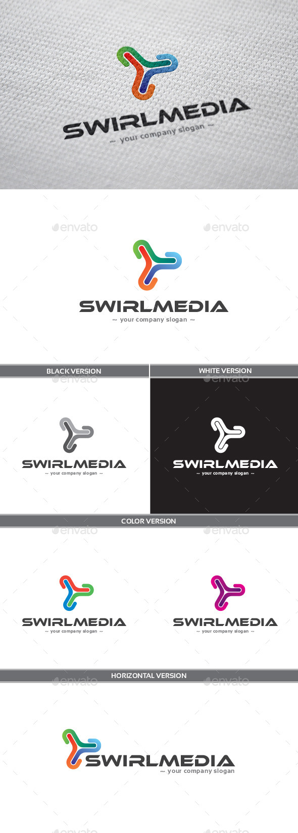 Swirlmedia Logo - Abstract Logo Templates