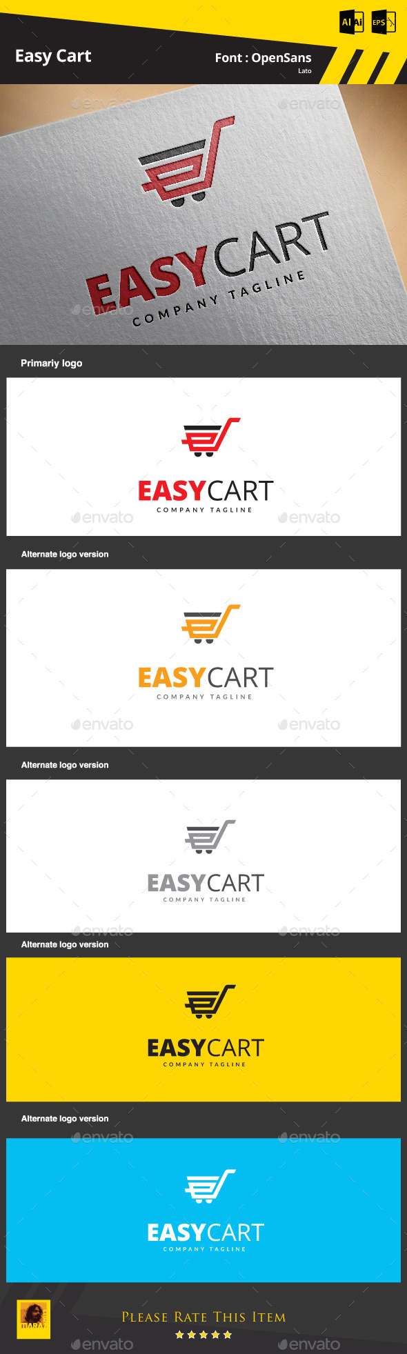 Easy Cart - Symbols Logo Templates