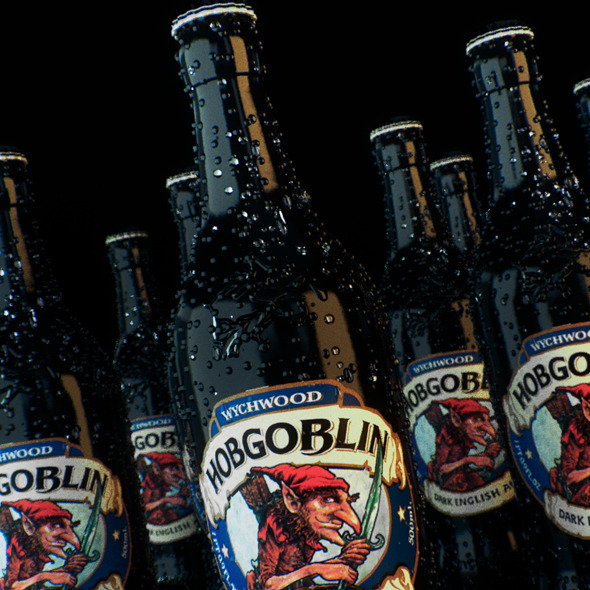 Hobgoblin Ale Bottle (Corona materials)