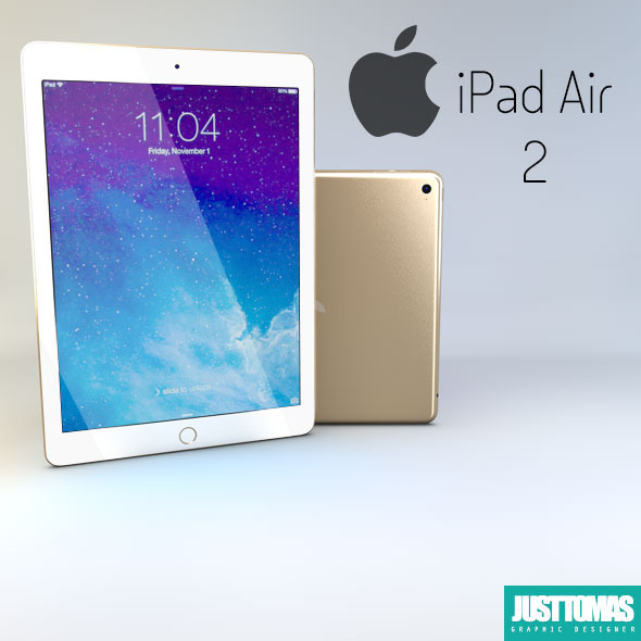 iPad Air 2 - 3DOcean Item for Sale