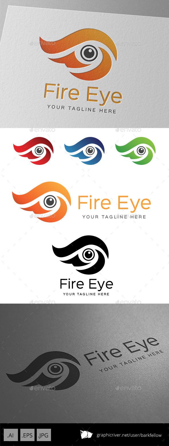 Fire Eye Logo - Symbols Logo Templates
