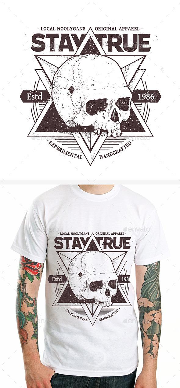Dotwork Skull Print #3 - Tattoos Vectors