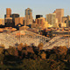 Downtown Denver Sunset