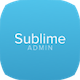 Sublime - Web Application Dashboard + Customizer Access Nulled