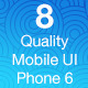 OS8 Quality - Mobile UI Kit - GraphicRiver Item for Sale