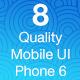 OS8 Quality - Mobile UI Kit - GraphicRiver Item for Sale