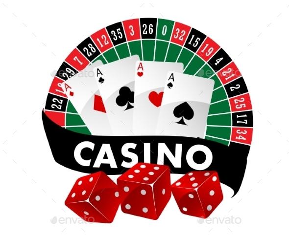 Casino Emblem or Badge - Miscellaneous Conceptual